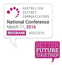 ASC2016 is in Brisbane on March 11, early bird ends in February