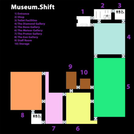 Museum Shift Map
